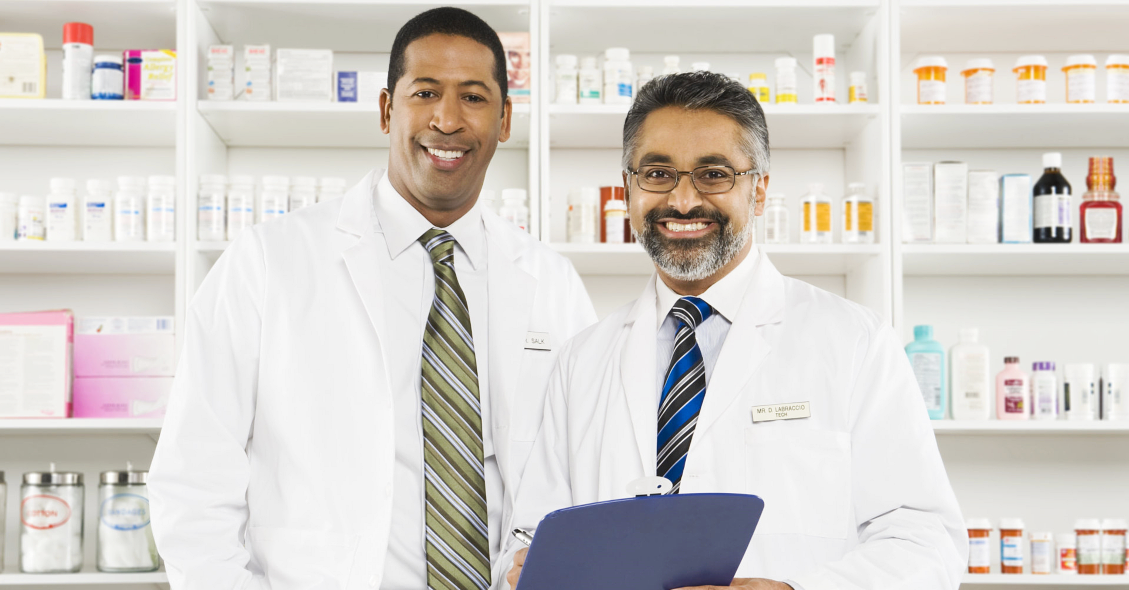two male pharmacist